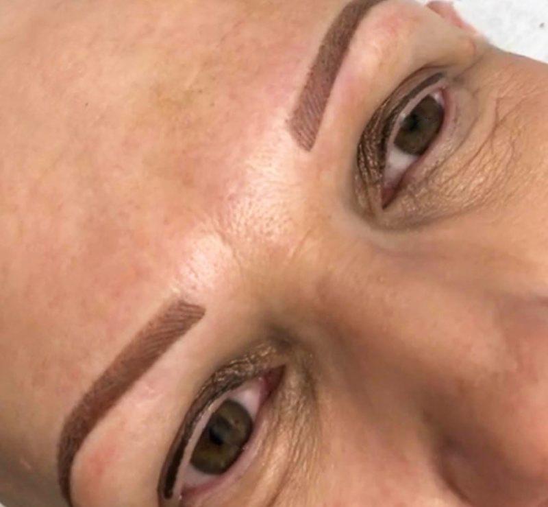 semi-permanent makeup treatment