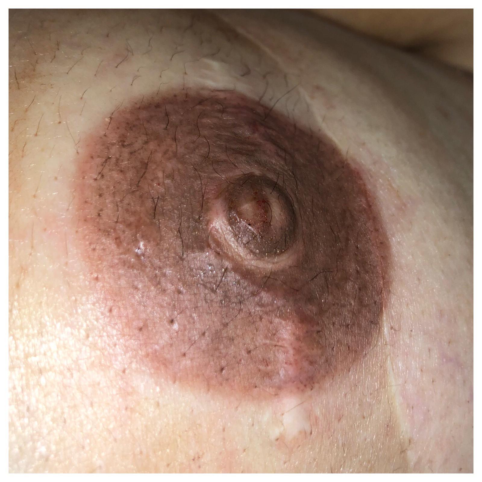 permanent makeup tattoo nipple