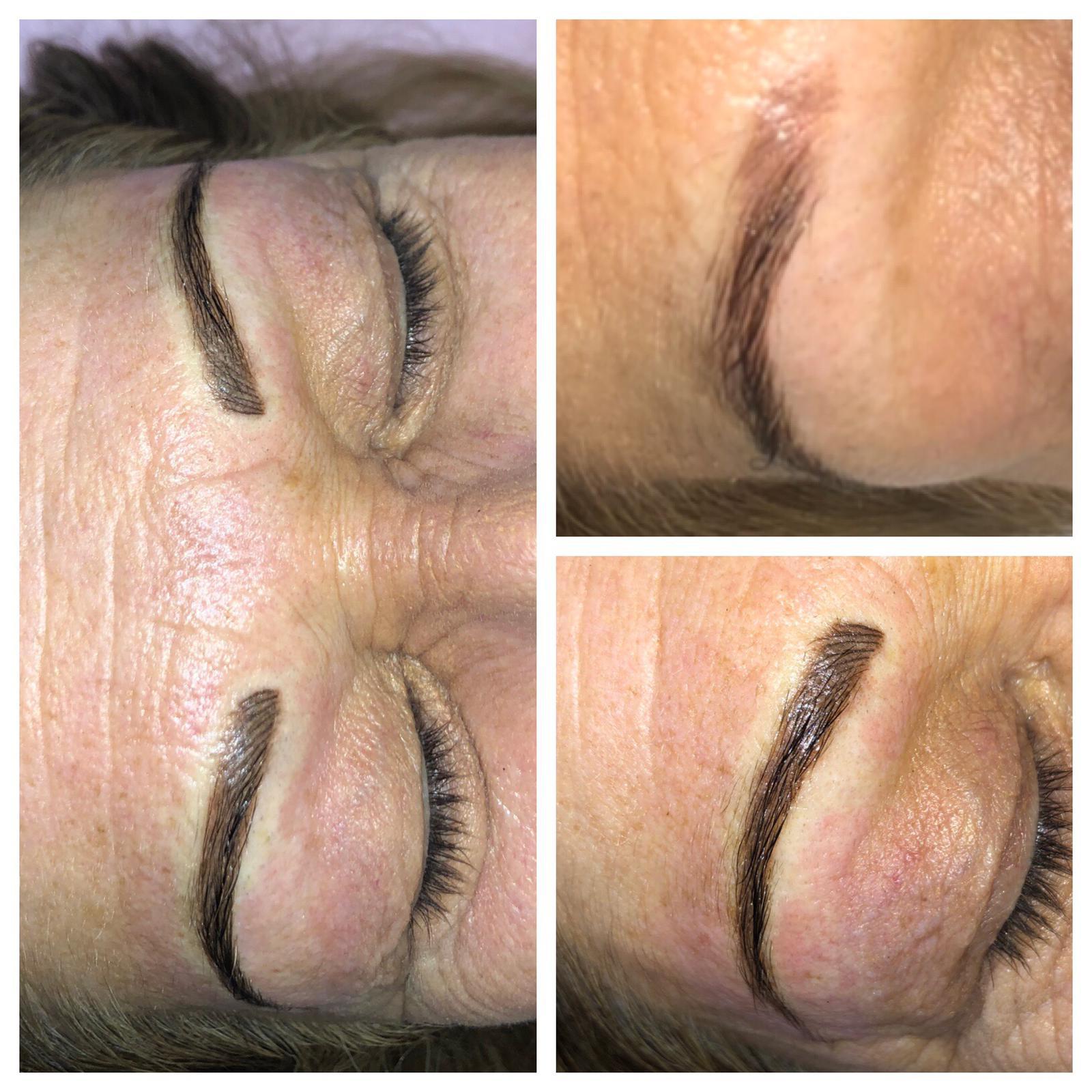 permanent make-up women