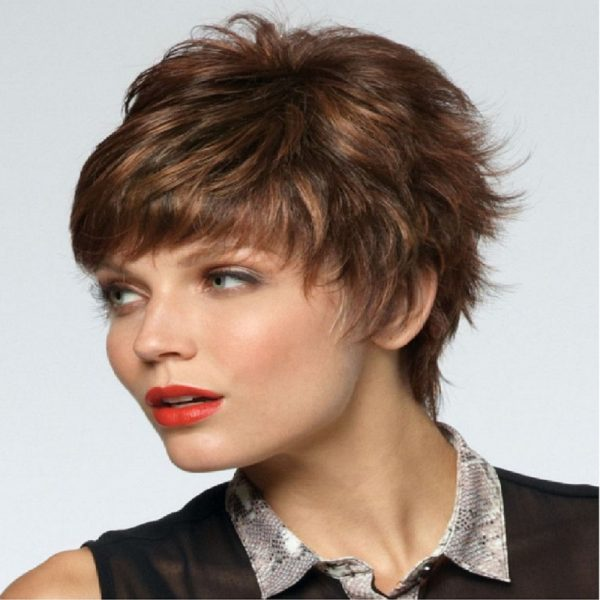 Tia | noriko | Fibre wig | Ginger F | Rene of Paris | Hair to Ware | Trendco | Side
