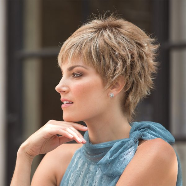 Tia | noriko | Fibre wig | Nutmeg F | Rene of Paris | Hair to Ware | Trendco | Side