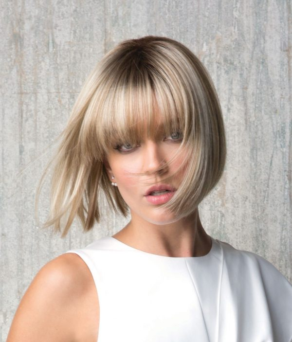 Tori | Creamy Toffee | Short Fibre Wig | Rene of Paris | High Fashion Collection | Bob | Front | Hair to Ware