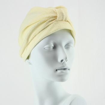 Towelling Turban - Cream
