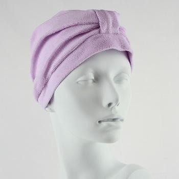 Towelling Turban - Lilac