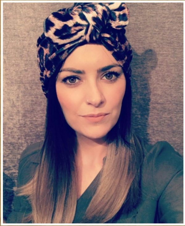 Eadiechops | Wrap Ladies Knotted Headband | Floral Pattern | Hair to Ware