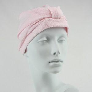 Towelling Turban - Pink