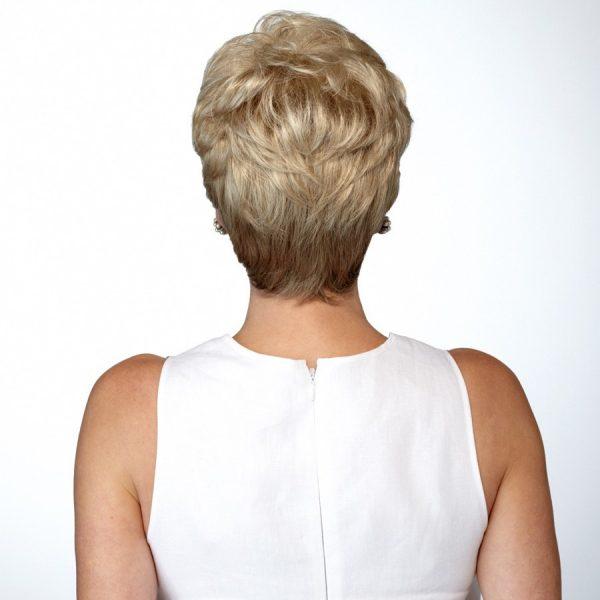Kim - Back - Wheat - Fibre Wig - Natural Image - Hair to Ware