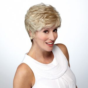 Kim - Front - Wheat - Fibre Wig - Natural Image - Hair to Ware