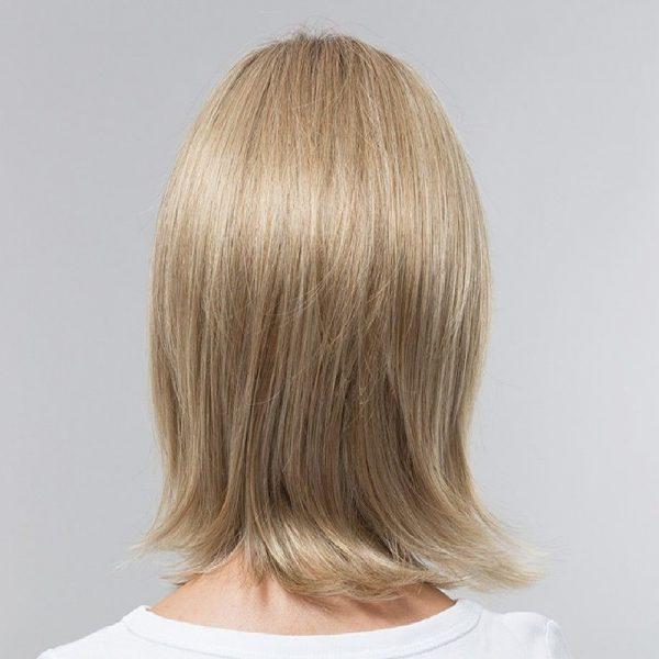 Hazel   Fibre Wig   Sentoo Lotus Collection   Trendco   Oak Melange Rooted   Straight   Back   Hair to Ware