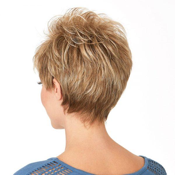 Katyana | Fibre Wig | Natural Image | Daxbourne | Praline Mist | Back | Hair to Ware