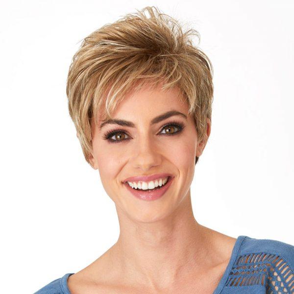 Katyana | Fibre Wig | Natural Image | Daxbourne | Praline Mist | Front | Hair to Ware