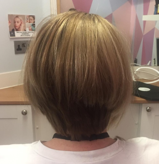 Hair loss consultant in full PPE   Hair to Ware