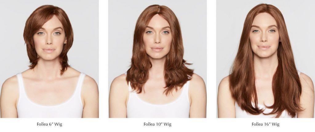human hair wig lengths